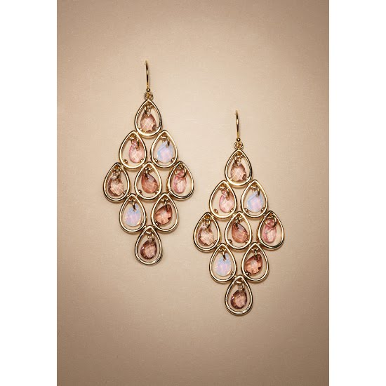New Carolee Carolee earrings Carolee jewelry Carolee Diamond Shape Chandelier Earrings earrings