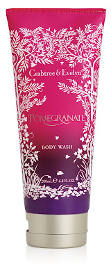 Crabtree & Evelyn, Crabtree & Evelyn Pomegranate Collection, Crabtree & Evelyn Pomegranate Body Wash, Crabtree & Evelyn body wash, Crabtree & Evelyn shower gel, pomegranate, shower gel, body wash, shower