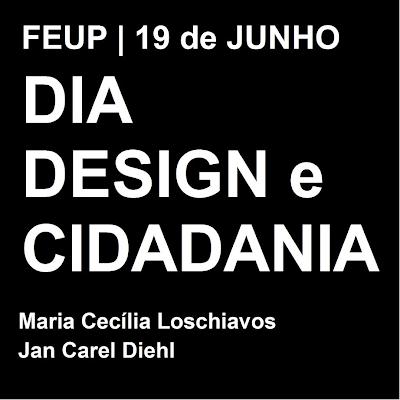 Design e Cidadania, 19 de Junho, na FEUP