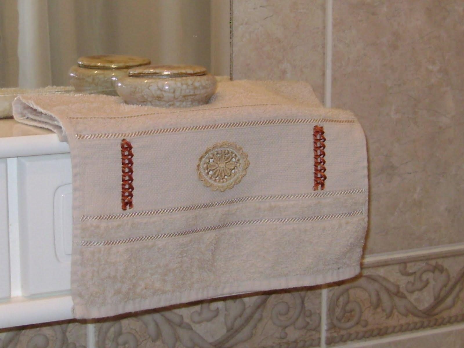 Hilos de aralena for Apliques para toallas