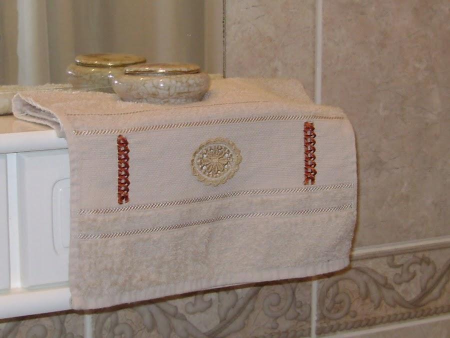 Apliques tela toalla for Apliques para toallas