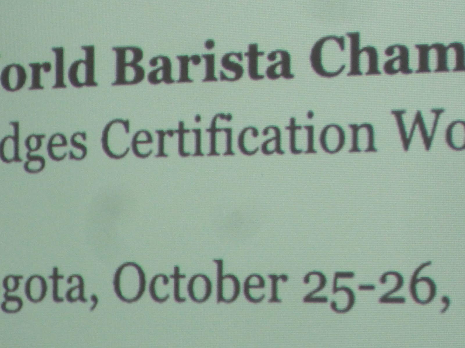 Jay\'s Strange Blog: WBC Judges Certification