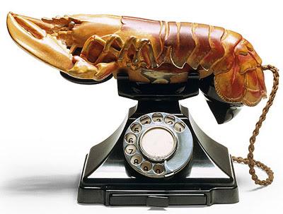 telephone+langosta+dali