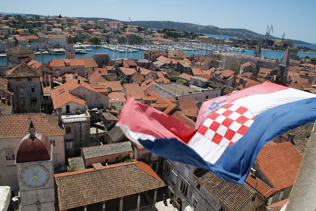 campanario+Catedral+Trogir+Croacia