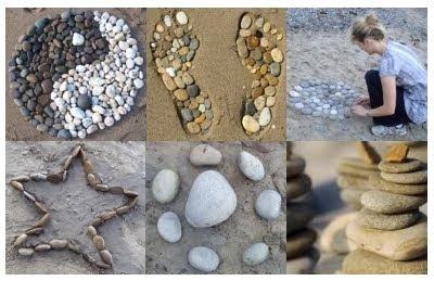 Beach Pebble Patterns