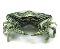 Origami Money Crab