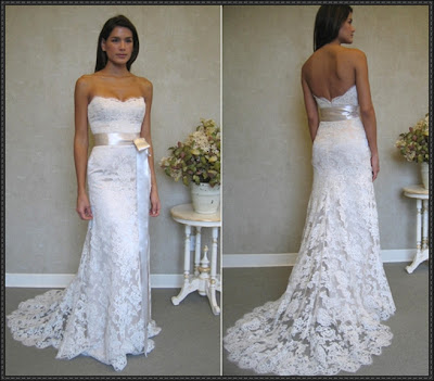 Exclusive bridal gown picture