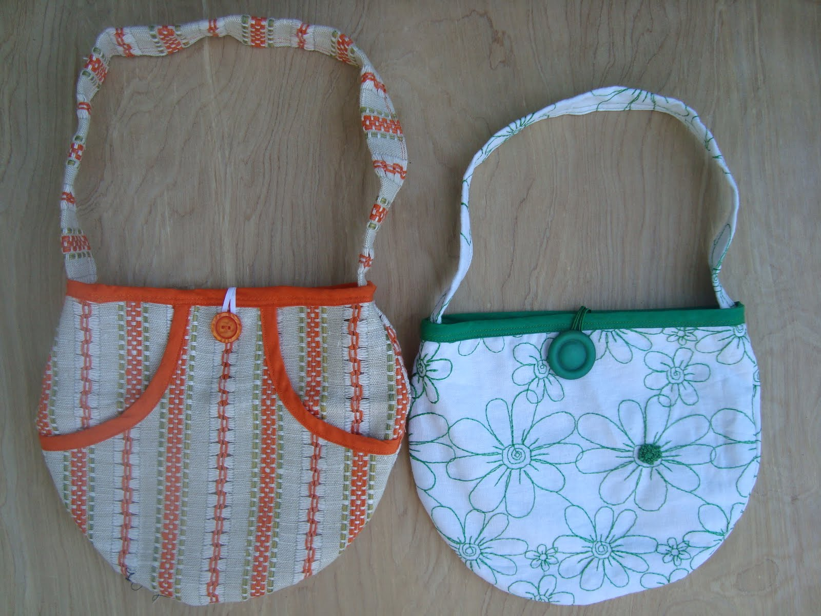Oranje Quilters' Guild: Free Patchwork Tote Pattern