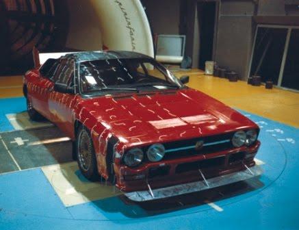 1982 Lancia Rally 037 Gruppo B. Lancia Rally 037, prototipo