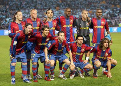 Integrantes del Barcelona FC