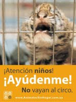 No a los Circos con Animales
