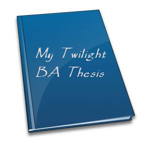 thesis on twilight saga