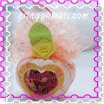 ของชำร่วย ปูน หัวใจดอกไม้หอม
