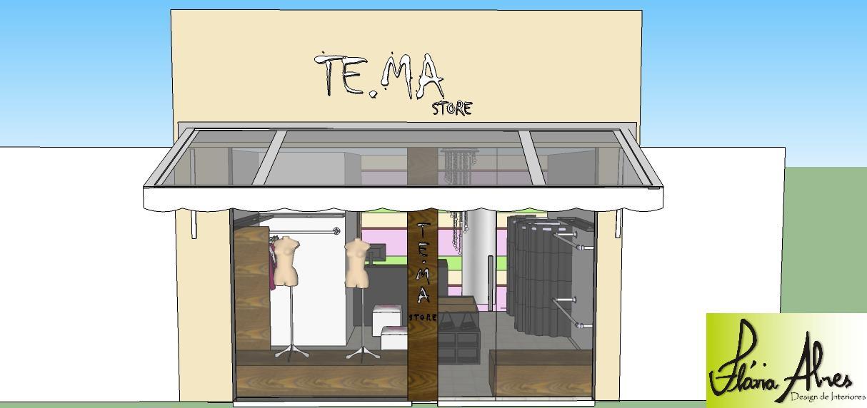 Muito DESIGN-SE: Reforma de loja de roupas femininas ZS26