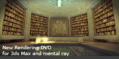Rendering DVD for 3ds Max and mental ray