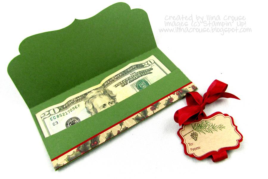 Creativity Within : 12 Days till Christmas Money Holder