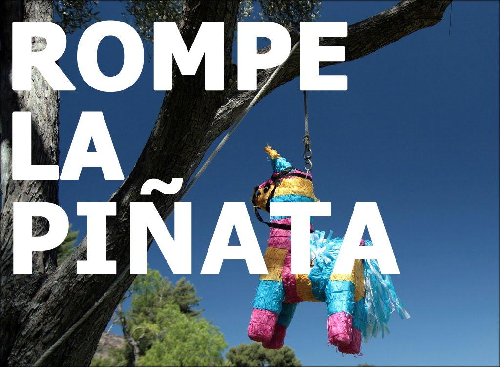 Rompe la piñata