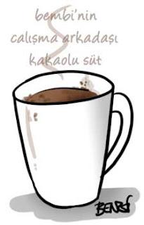 Kakaolu Sıcak Süt