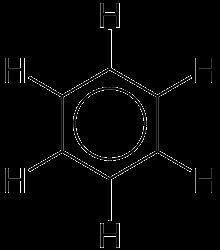 Molécula de benceno