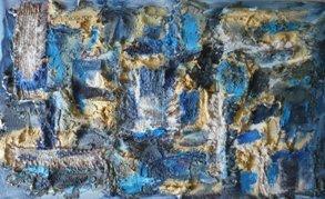 Етюд II - синьо / Sketch II