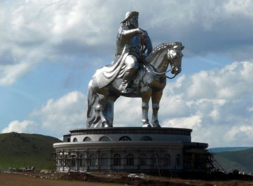 The Genghis Khan Statue