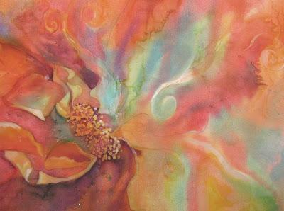 Batik painting WIP