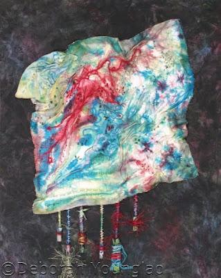 deborah younglao silk art quilt