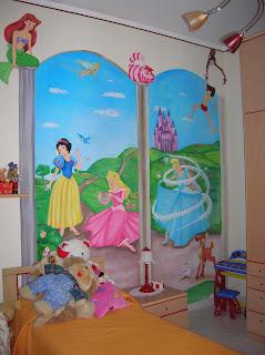 Arte e compani murales cameretta stile walth disney scopiazzato in internet - Murales cameretta bimbi ...