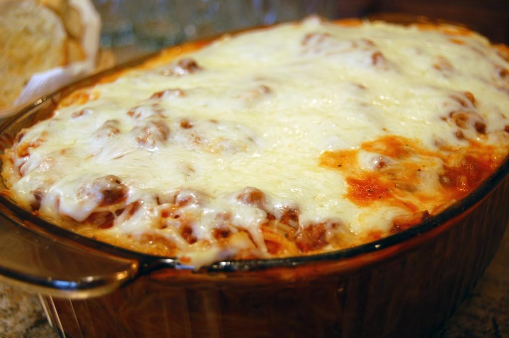 on box. Brown beef or turkey in skillet until done add Spaghetti ...