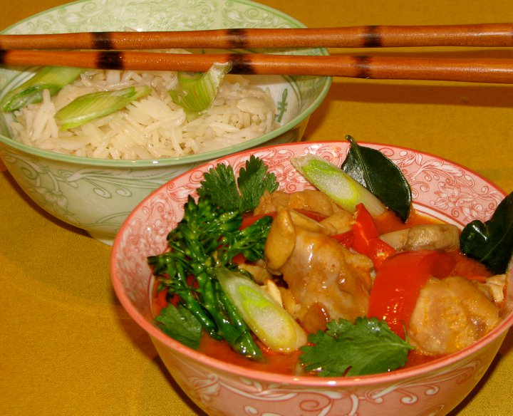 For Dinner Tonight Ladies RECIPES Thai Panang Curry with Chicken