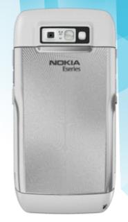 Nokia E71 Back View