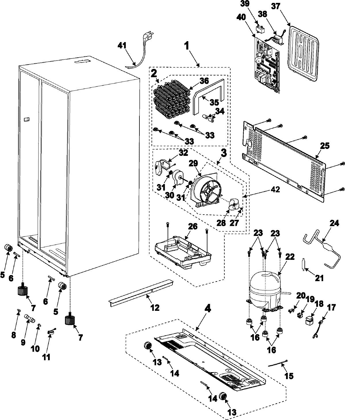 Led Electronics Usa Rs2630sh 09 Machine Compartment