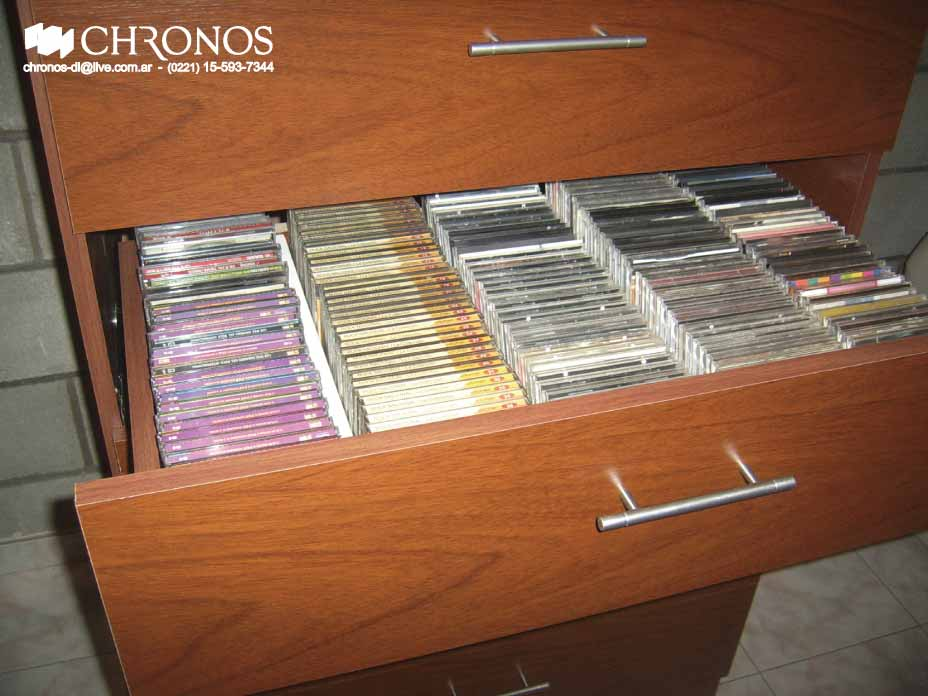 chronos dise os muebles para cd y dvd