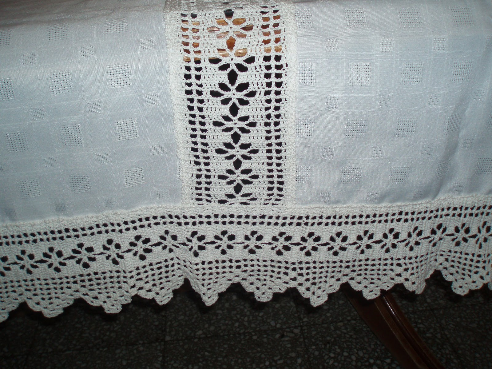 Fotos de puntillas de ganchillo para manteles pictures to - Mantel de crochet ...