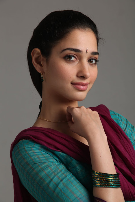 South Indian Actress Tamanna in College Girl Dress in Leggings photoshoot