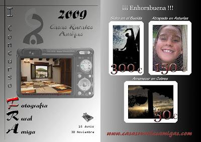 Concurso Fotografía Casas Rurales Amigas