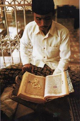 Reading Koran
