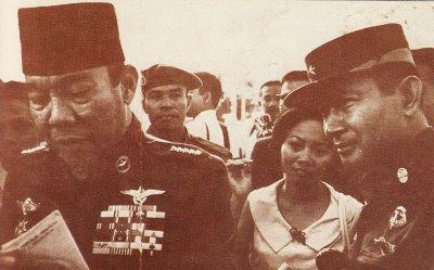 Soekarno and Soeharto