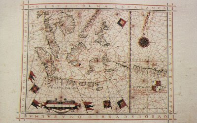 Portuguese map of Southeast Asia