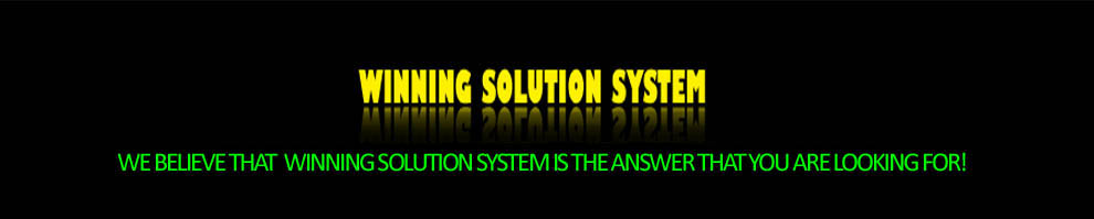 Winning Solution System | Signals