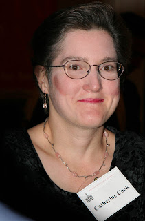 Catherine E. Cook, September 25, 2008, at Ed Hall's gala dinner