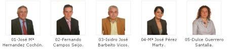 Candidatos PP de Sada 2007