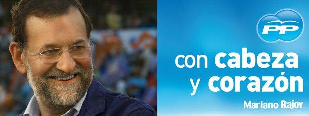 El 9 de Marzo vota a Rajoy