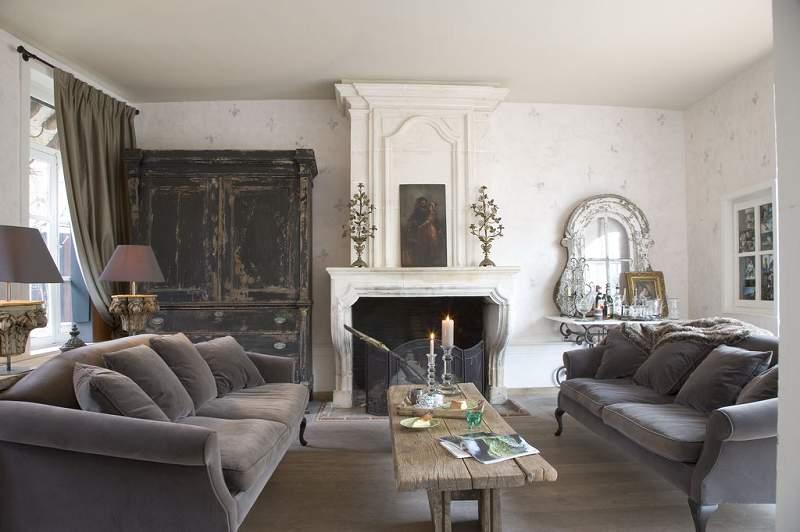 Estilos de Decoración VIII - Página 26 French+living+room
