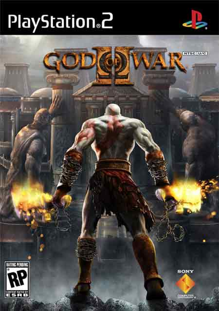 God of War 2 NTSC PS2 DVD5