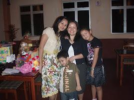 Me,My daughter,Sapna&her Son.