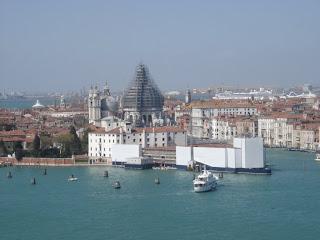 Вид с колокольни собора Сан Джорджо Маджоре