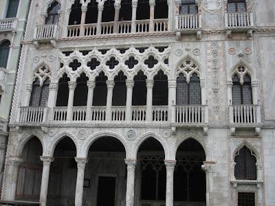 Дворцы Венеции. Ка`д`Оро