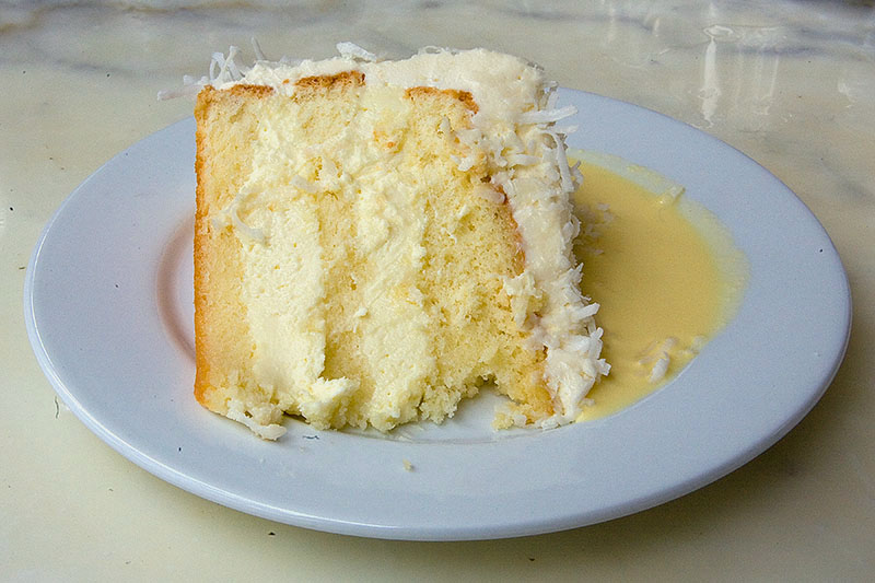Coconut Cream Cake - I'm not a huge fan of coconut, but this cake ...