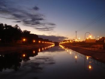 Atardecer en el Canal Grande